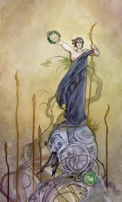 Resultado de imagem para 6 of wands tarot